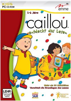 EMME Caillou entdeckt das Lesen (DE) (Win)