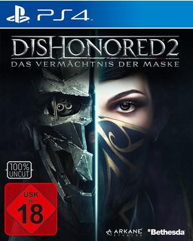 BETHESDA Dishonored 2: PlayStation 4