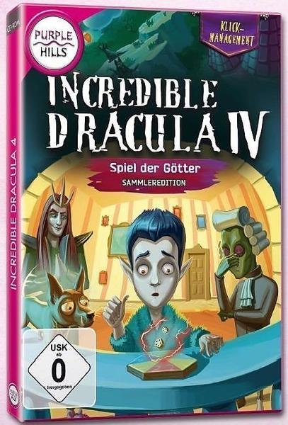 Incredible Dracula 4: Spiel der Götter - Sammler-Edition (PC)