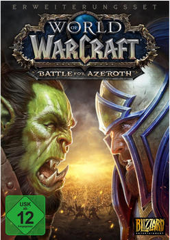 Blizzard World of Warcraft: Battle for Azeroth (Add-On) (PEGI) (Download) (PC)