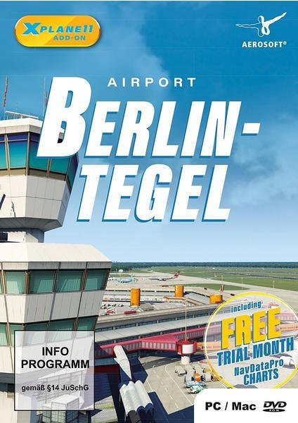 X-Plane 11: Airport Berlin-Tegel (Add-On) (PC/Mac)