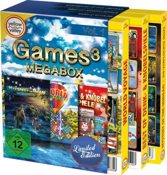 S.A.D. Games 3 DVD-ROMs (Limited Edition)