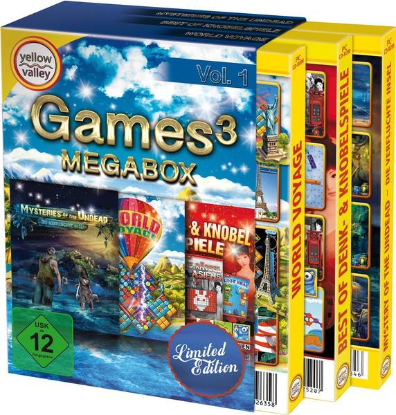 S.A.D. Games3: Megabox - Limited Edition (USK) (PC)