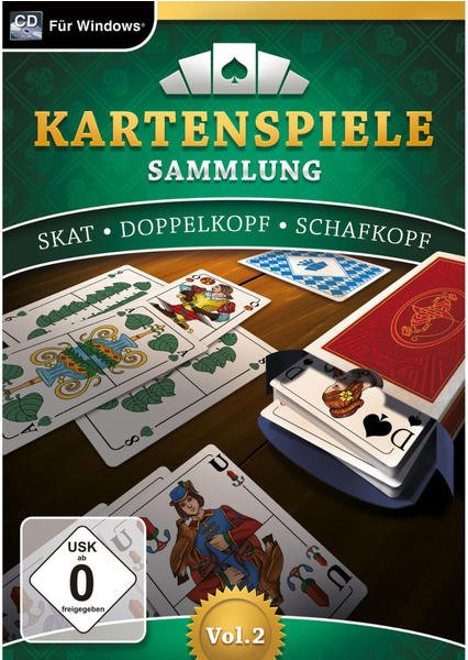 Kartenspielesammlung Vol. 2 (PC)