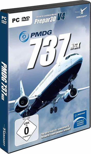 Aerosoft PMDG 737 NGX for P3D V4 Add-On PC USK: 0