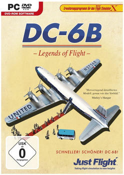 Just Flight Flight Simulator X - DC-6B Legends of Flight (Add-On)