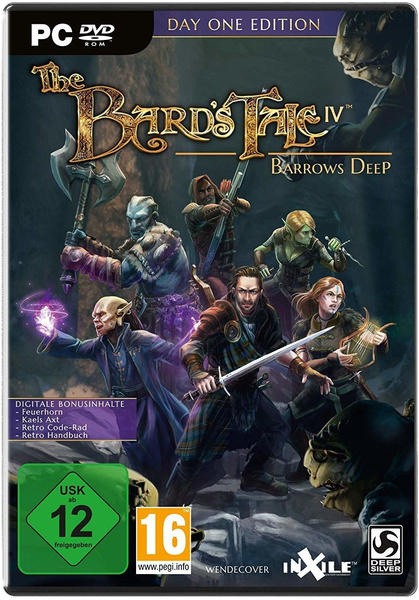 Avanquest The Bards Tale IV: Barrows Deep Day One Edition PC