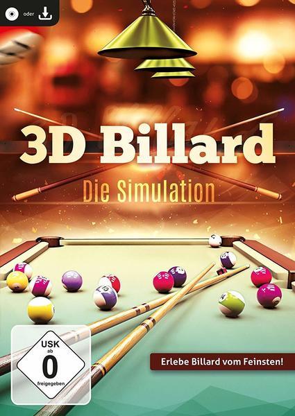 Rokapublish 3D Billard - Die Simulation (PC)