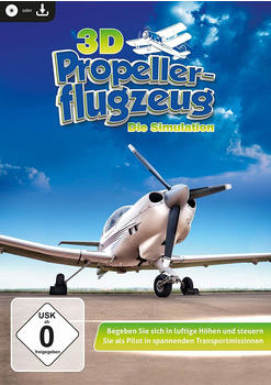 Rokapublish 3D Propellerflugzeug - Die Simulation (PC)
