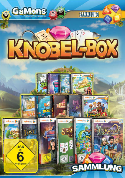 KOCH Media GaMons - Knobelspiel MEGA Box - 2018 (USK) (PC)