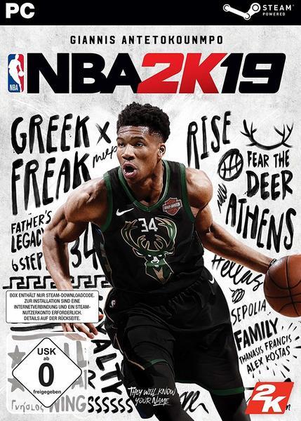 2K Games NBA 2K19 (Code-in-a-Box) (PC)