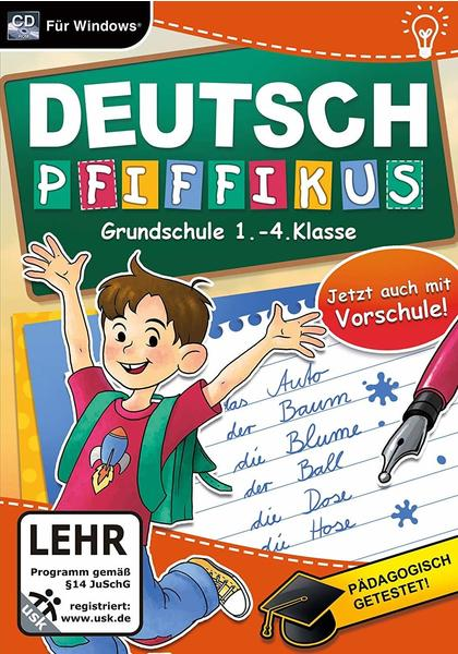 Magnussoft Deutsch Pfiffikus Grundschule (USK) (PC)
