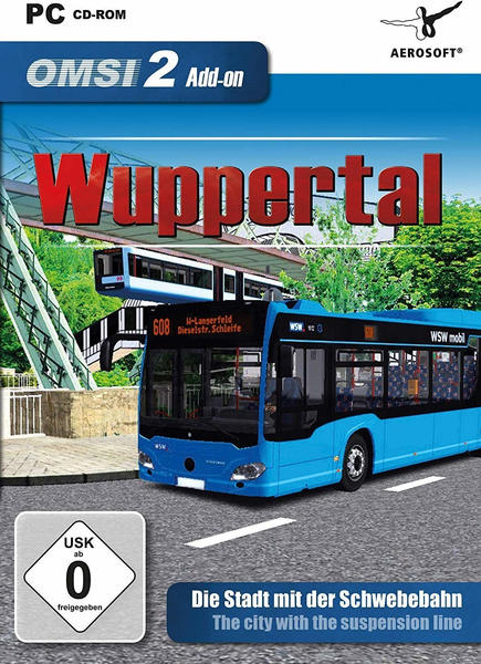 OMSI 2: Wuppertal (Add-On) (PC)