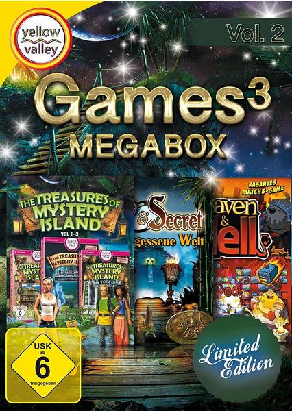 S.A.D. Games3 MegaBox Vol. 2 (Limited Edition)