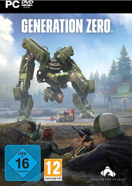 keine Angabe Generation Zero PC USK: 16