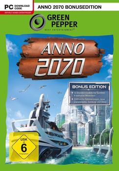 software pyramide Anno 2070 Bonusedition PC USK: 6