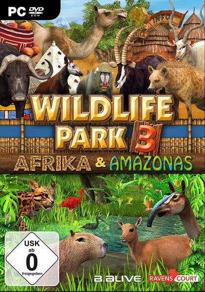 Wildlife Park 3: Afrika & Amazonas (PC)