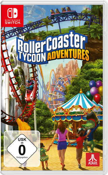 RollerCoaster Tycoon: Adventures (Switch)