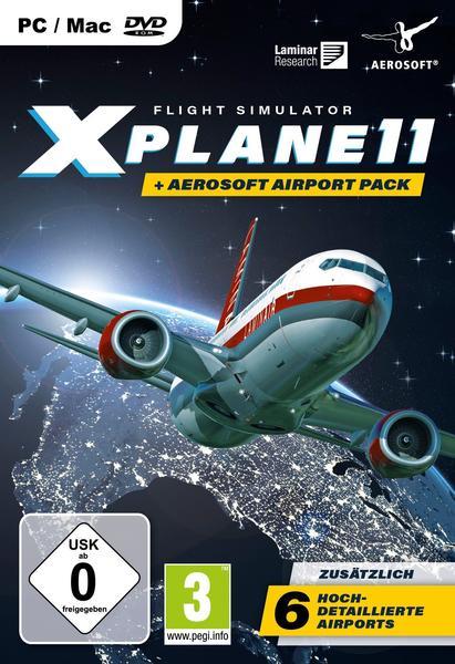 Aerosoft XPlane 11 + Aerosoft Pack (USK) (PS4)