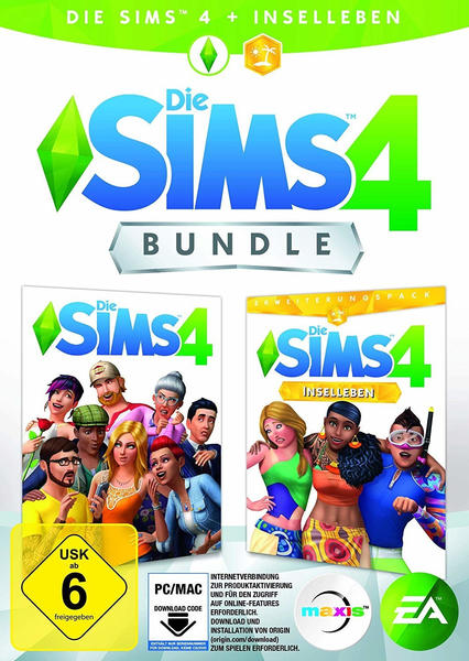 Die Sims 4: Bundle - Die Sims 4 + Inselleben (PC)