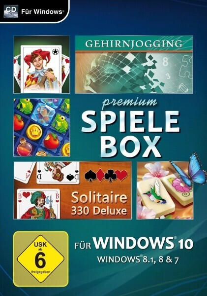 Magnussoft Premium Spielebox für Windows 10 PC
