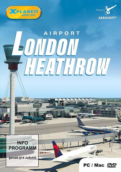 Aerosoft Airport London Heathrow (USK) (PC)