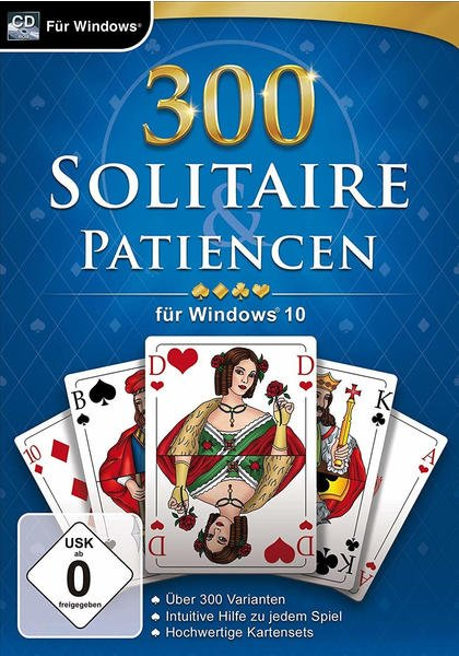 300 Solitaire & Patiencen (PC)