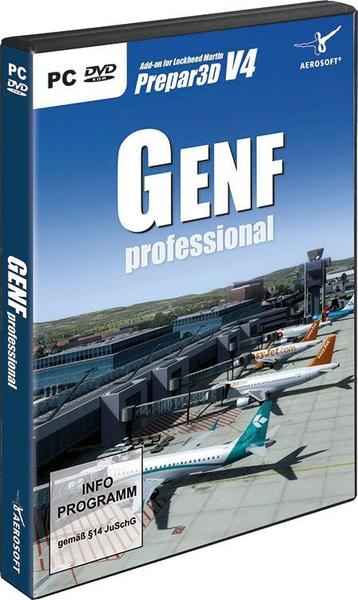 Aerosoft Genf Professional (Add-On) (USK) (PC)