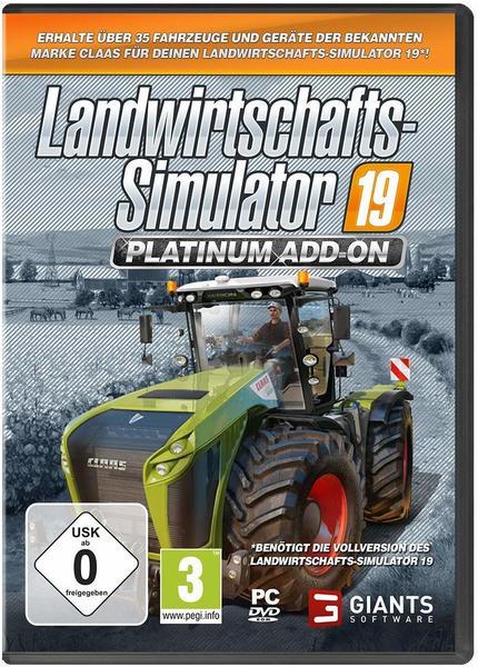 Landwirtschafts-Simulator 19: Platinum Add-On (Add-On) (PC)