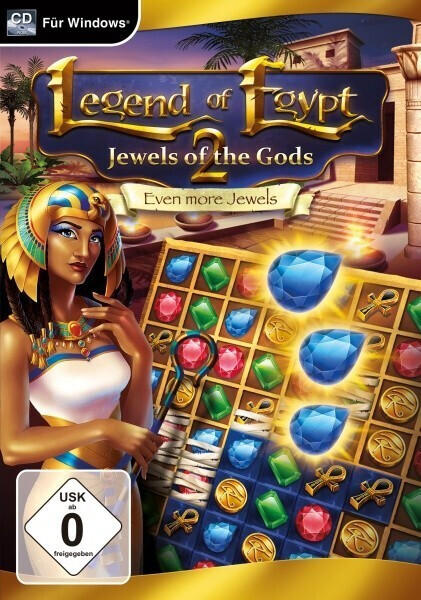 Magnussoft Legend of Egypt: Jewels of the Gods 2 - Even more Jewels (USK) (PC)