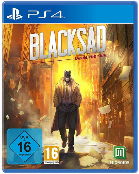 Game Blacksad: Under the Skin - Limited Edition, PC Videospiel