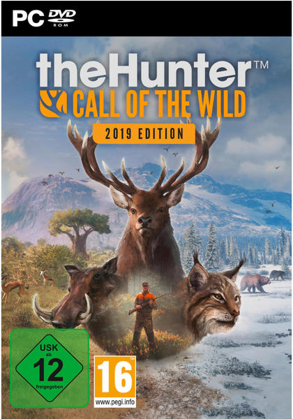 THQ The Hunter Call of the Wild 2019 2. Auflage PC USK: 12