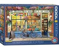 Eurographics Worlds Greatest Bookstore 1000pc Puzzle