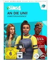 Electronic Arts Sims 4: An die Uni! (Add-On) (Download) (PC/Mac)