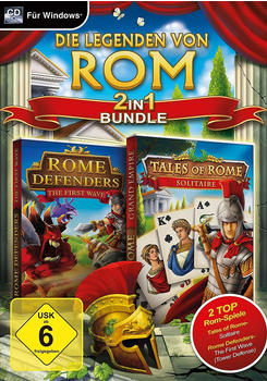 Legenden von Rom 2in1 Bundle: Rome Defenders; The First Wave + Tales of Rome: Solitaire (PC)