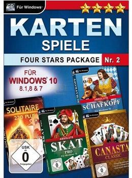 Magnussoft Kartenspiele Four Stars Package Nr. 2