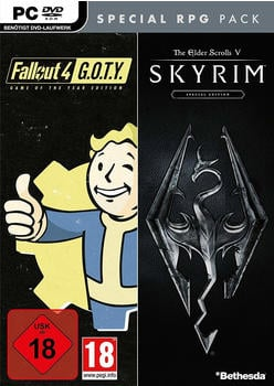 Fallout 4: Game of the Year Edition + The Elder Scrolls V: Skyrim: Special Edition (PC)