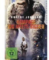 Universal Pictures Rampage: Big Meets Bigger - DVD Filme