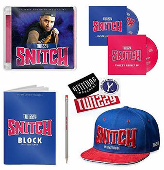 Twizzy - Snitch (Limited Deluxe Box) (CD)
