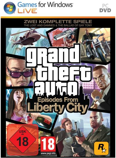 Take 2 Grand Theft Auto: Episodes from Liberty City (Add-On) (PC)