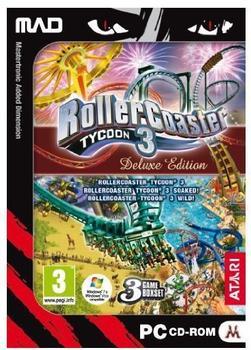Atari RollerCoaster Tycoon 3 - Deluxe Edition (PEGI) (PC)