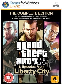 Rockstar Games Grand Theft Auto IV - Complete Edition (PEGI) (PC)