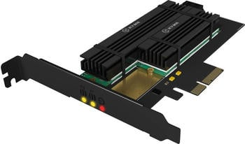 Raidsonic Icy Box SATA III / NVMe > M.2 Adapter (IB-PCI215M2-HSL)