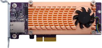 QNAP PCIe > NVMe M.2 / 10GbE Konverter (QM2-2P10G1TA)
