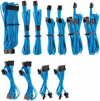 Corsair Premium PSU Cables Pro-Kit Typ 4 Gen 4 mit Einzelummantelung - blau
