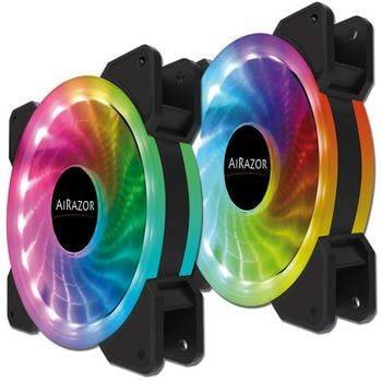 LC Power LC-CF-PRO-RGB-COMBO 120mm 2-Pack