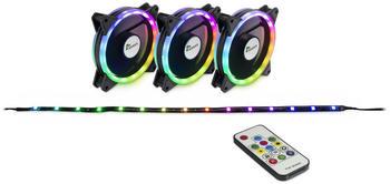Inter-Tech Argus RGB-Fan Set RS-04
