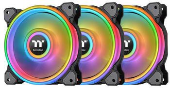 Thermaltake Riing Quad 14 RGB Radiator Fan TT Premium Edition 3er Pack Schwarz