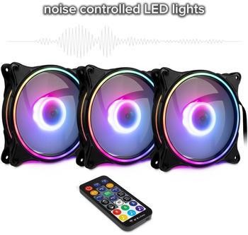 Inter-Tech Argus RGB-Fan Set RS-08