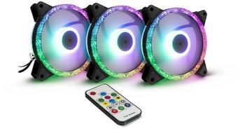 Inter-Tech Argus RGB-Fan Set RS-07
